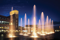 Civic Arts Plaza Fountain