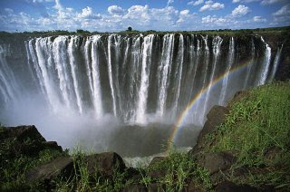 victoria falls one of the top ten travel wonders of Africa