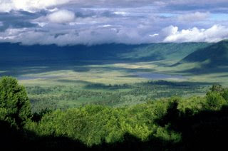 ngorongoro crater one of the top ten travel wonders of Africa