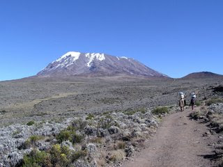 Mount Kilimanjaro one of the Seven Forgotten Natural Wonders of the World