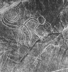 Nazca Animal Figures (Nazca Lines), Peru, South America