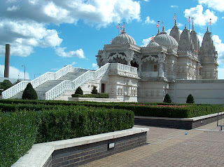 The Swaminarayan Hindu Temple in Neasden