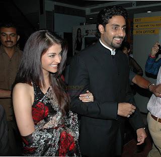 Abhishek et Aishwarya Rai Bachchan à Goa pour fêter la nouvelle année