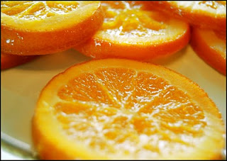 Civil War Reenacting and Cooking: Candied Orange Slices
