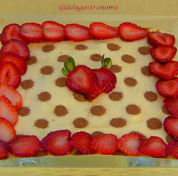 Tiramisu with chocolate dots: click on picture to view