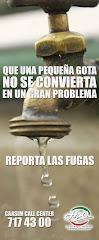REPORTA LAS FUGAS