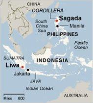 SAGADA, MAP,PHILIPPINES
