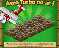 Avião da Mini Fazenda