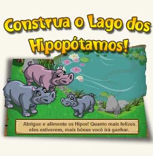 Lago dos Hipopótamos