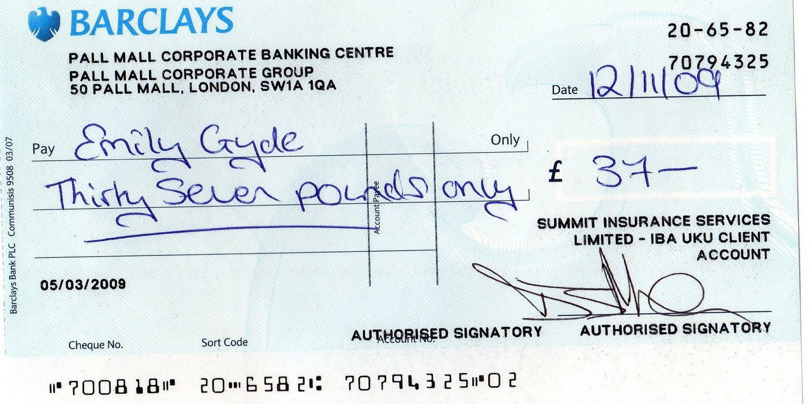 COMPUCOVER CHEQUE EXPOSED: