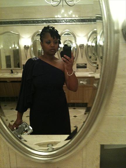 ... Air Force Ball, Bellagio Hotel, Las Vegas, NV (Formal Sisterlocks