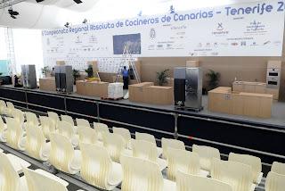 Gradas para 160 personas y una pantalla gigante permitirán seguir al detalle el VI Campeonato de Cocineros