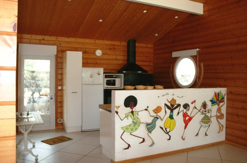 Presqu 39 ile du cap ferret cuisine for Cuisine 15m2