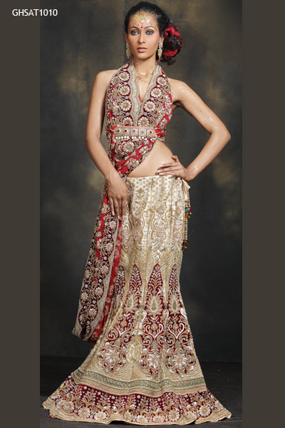 Golden Wedding Lehenga