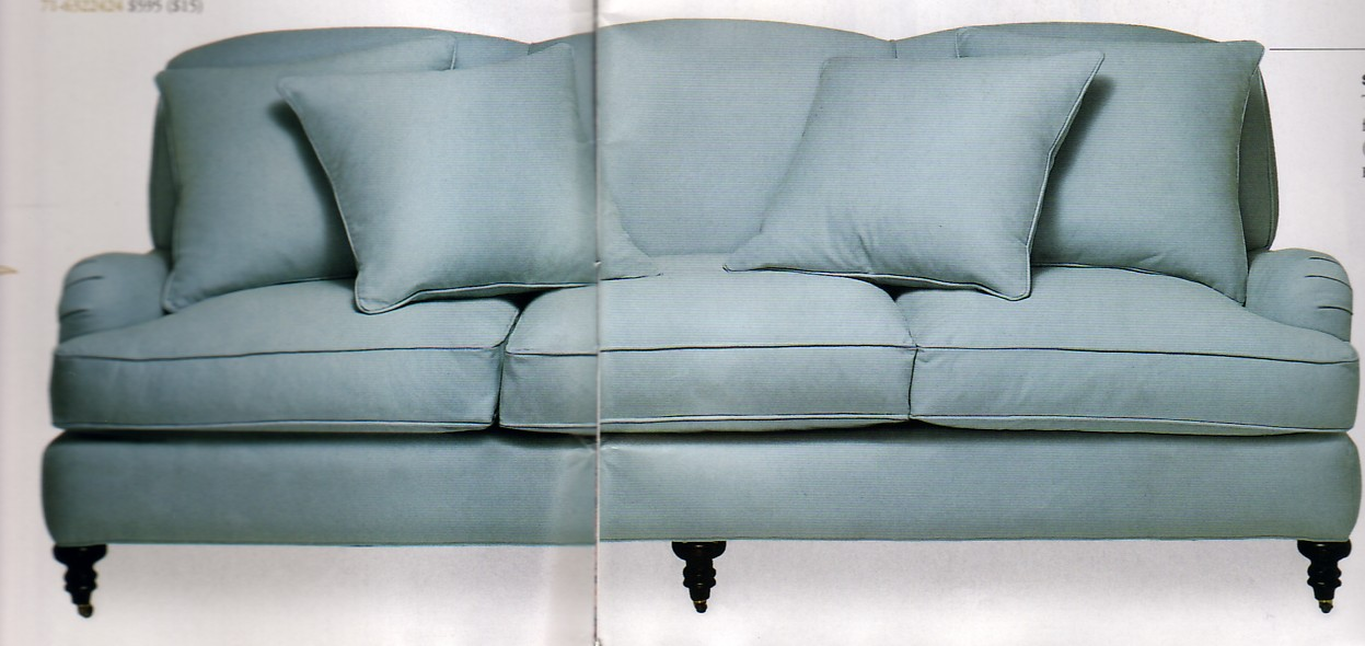 Lee Industries English Roll Arm Sofa Thinking About