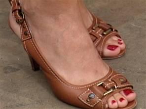 Natalie Morales Feet