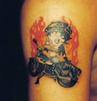 Betty Boop Tattoos