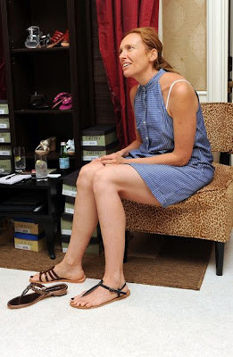 Hollywood Star Feet: Toni Collette Feet