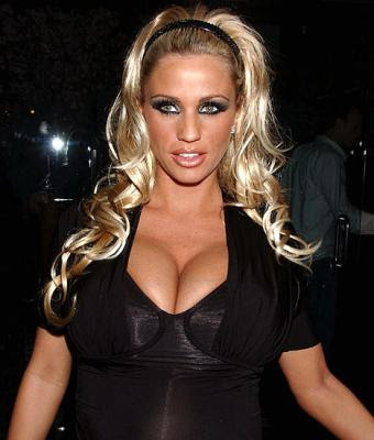 Katie Price Blonde Hairstyles