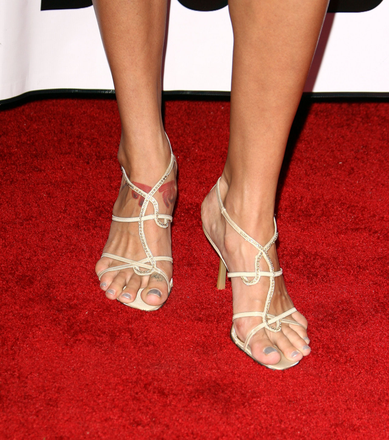Hollywood Star Feet: Kristanna Loken Feet