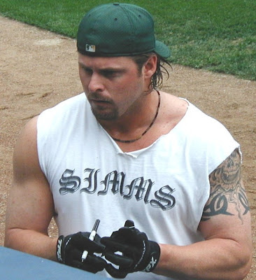 Jason Giambi Tattoos