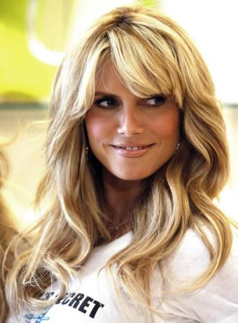 heidi klum hairstyles updos. Heidi Klum Hairstyles