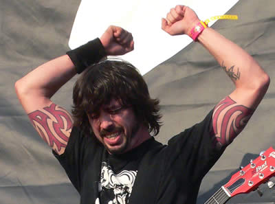 Dave Grohl Led Zeppelin Tattoos