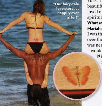Here we have even more celebrity women with lower back tattoos,