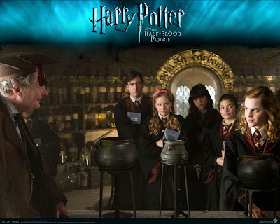 anime blood wallpaper.  set of great Harry Potter and the Half-Blood Prince desktop wallpapers.
