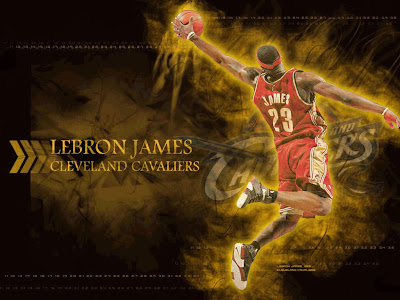 lebron james wallpaper 2009. Lebron James Desktop Wallpaper