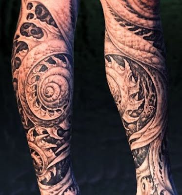 Biomechanical tattoos are not very deep rooted like the normal tattoos which