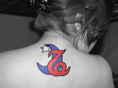 Capricorn Tattoos For Girls