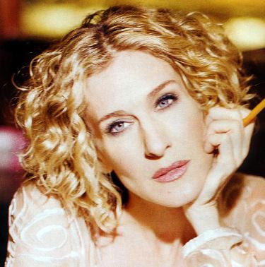 Sarah Jessica Parker Short Curly Hairstyle