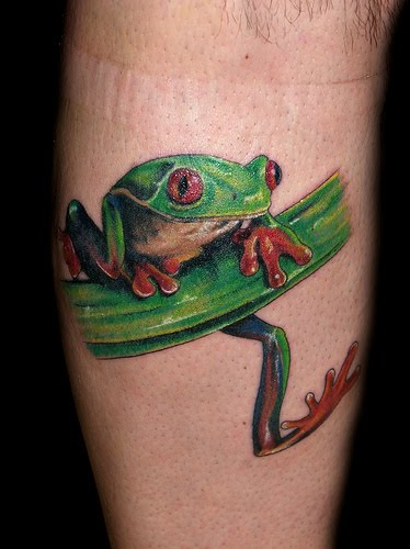 Trend tattoos frog tattoos ideas pictures for Celtic frog tattoo designs