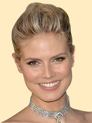 Heidi Klum Updo Hairstyles photo