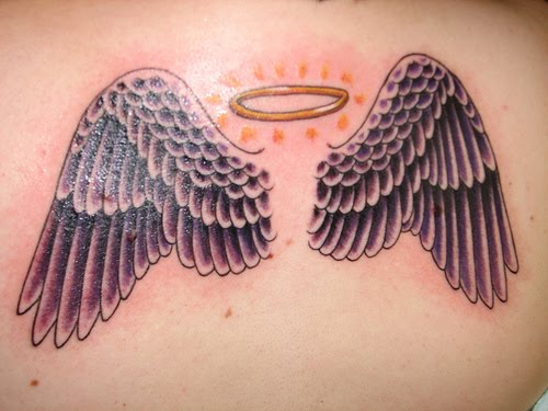 picture tattoo collection angel halo tattoos. Black Bedroom Furniture Sets. Home Design Ideas