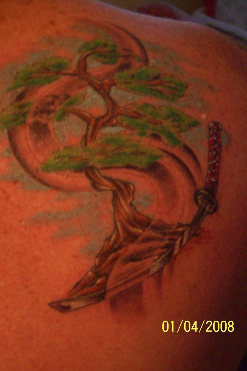 Katana Tattoos Zentrader