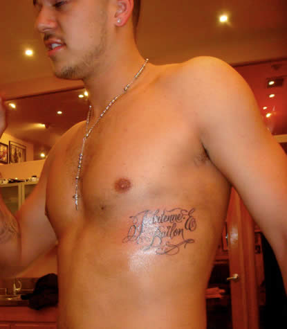 Rob Kardashian Tattoos