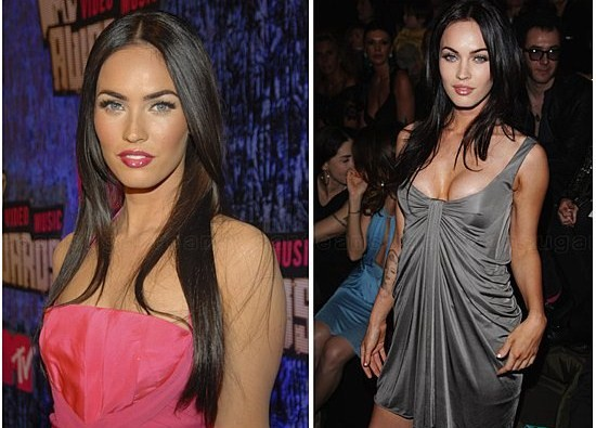 megan fox before and after surgery pictures 2010. Megan Fox before and after