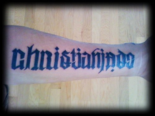Excellent ambigram tattoo ideas for both men and women.