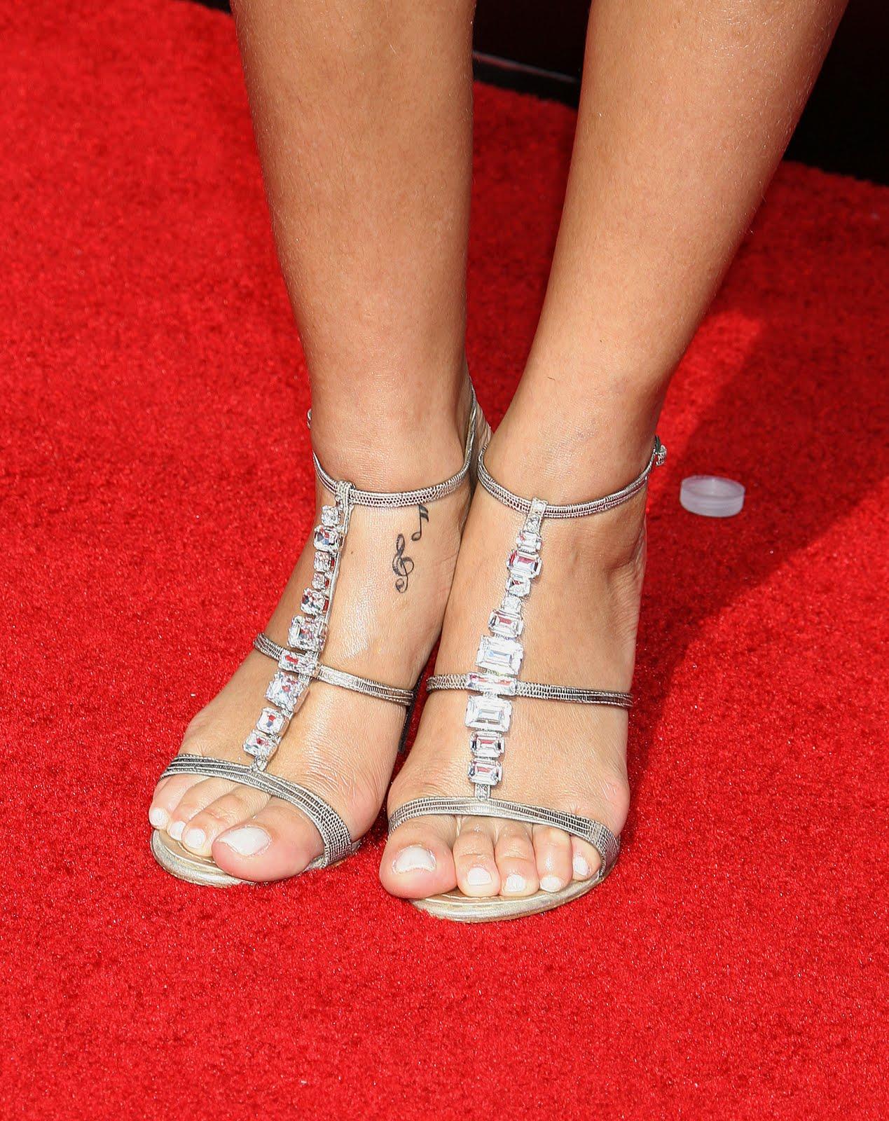 Rihanna Feet Starlight Celebrity