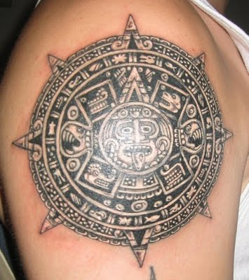 Aztec Tattoos on Aztec Tattoos   Ideas And Pictures