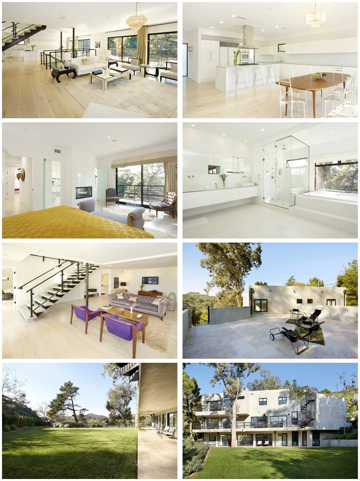 Celebrity houses july 2010 for Look inside beautiful homes
