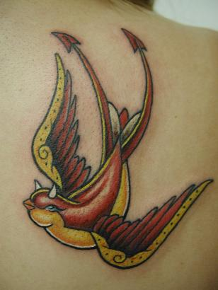 Animal tattoo - Bird Tattoo Design