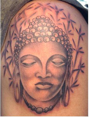 Cervecerix buddhist tattoos buddhist tattoo are often seen alongside flower designs specially the lotus flower mightylinksfo