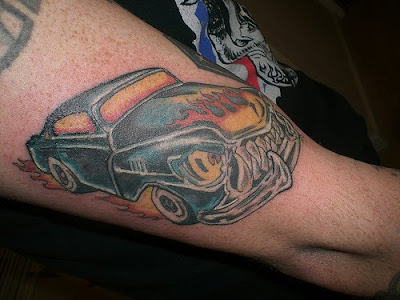 The funniest car-related tattoos. View Larger Image Car Tattoos Car Tattoos