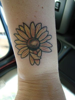 Phoeenix Tattoo Designs Gallery: Sunflower Tattoos