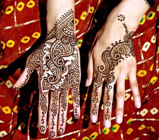 A henna tattoo is a temporary body art using paste from the henna plant,