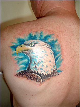 Eagle Head Tattoos