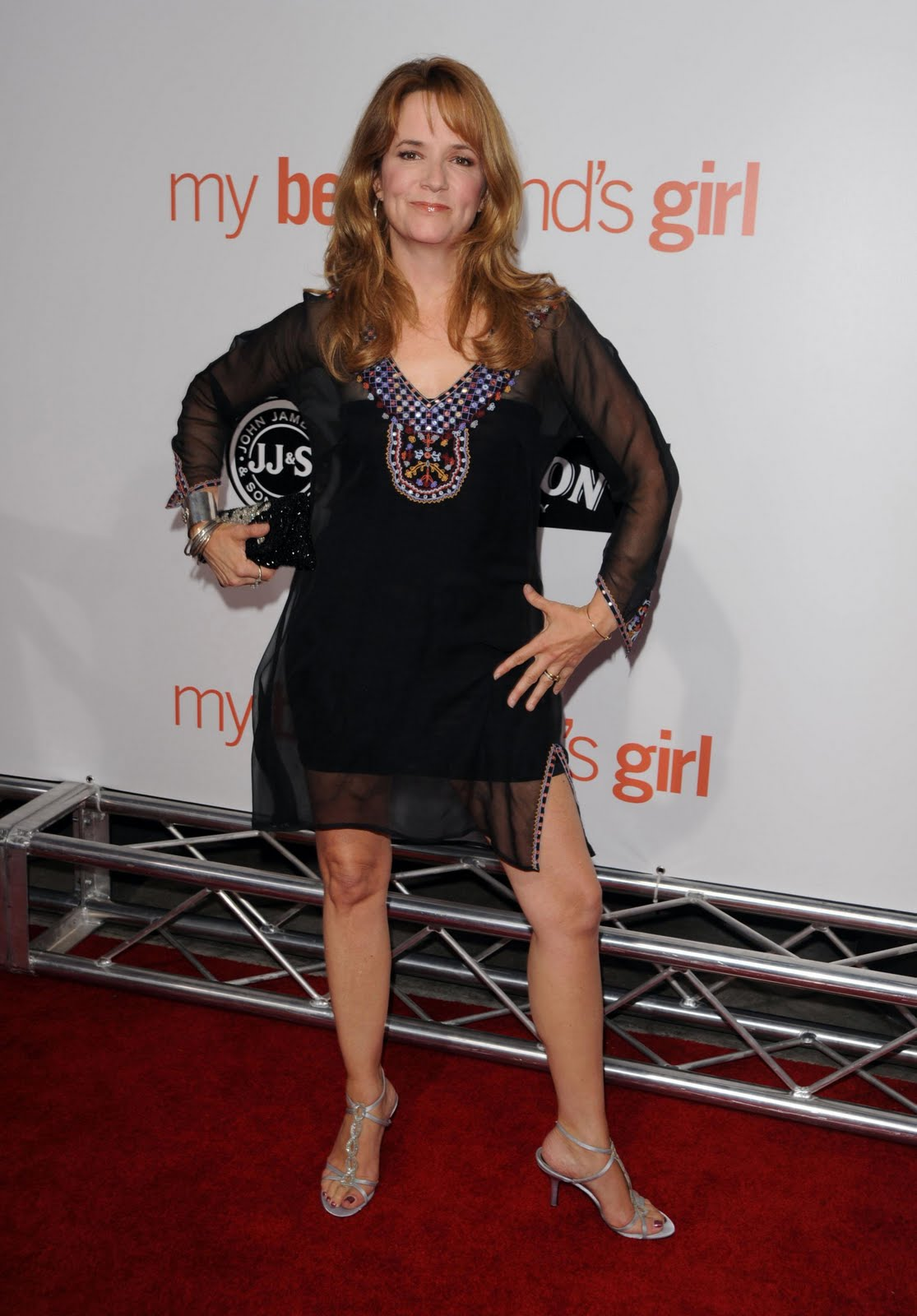 Lea Thompson Feet Celebrity Legs Image